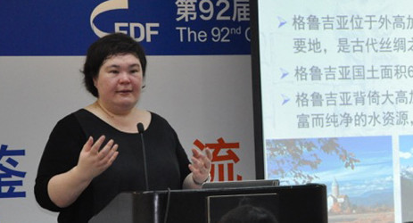 A private lesson with educators in China – Fongyee Walker