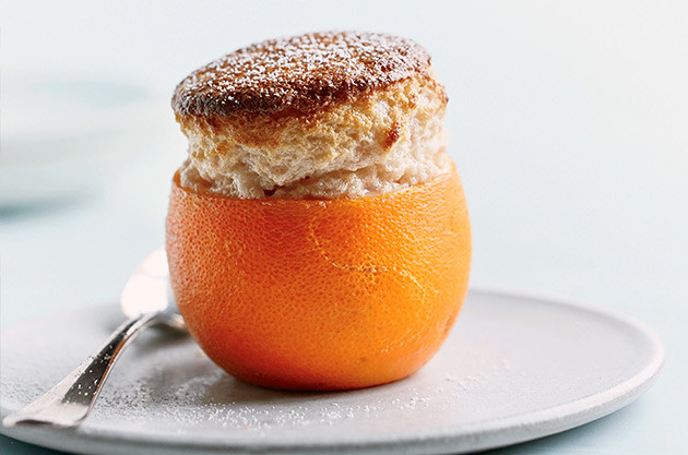 Blood orange soufflés - recipes and wine pairings