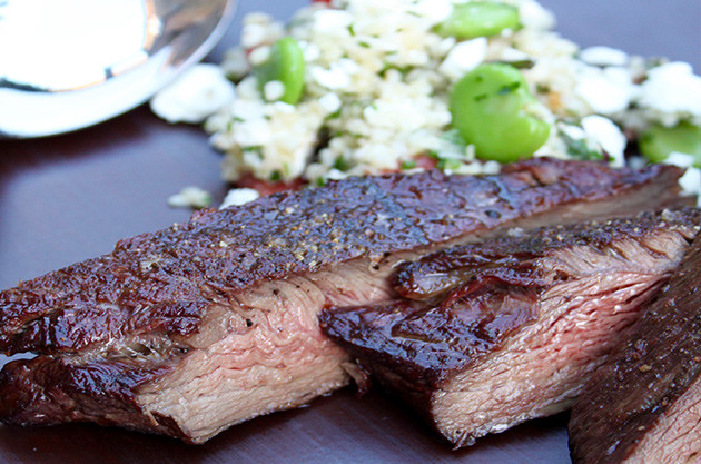 BBQ flank steak with wines to match – Recipes and wine pairings