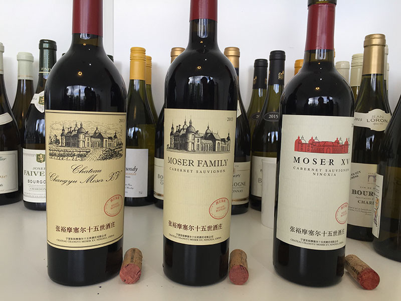 Decanter Wine Reviews Chateau Changyu Moser Xv Decanter