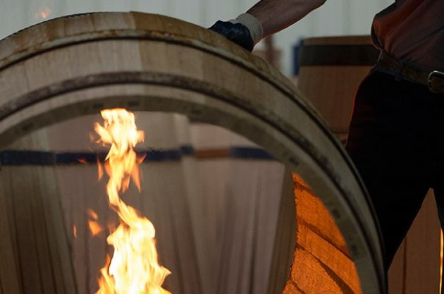 What is the role of oak barrels?