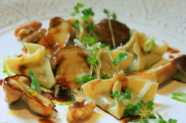 Mushroom Agnolotti – recipes and wine pairings