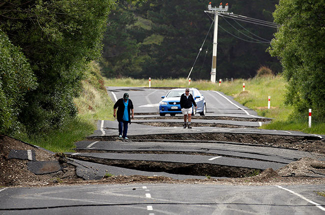 International: Epicentre of NZ earthquake that wrecked 5 million bottles worth of wine