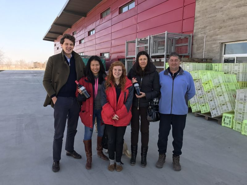 Image: Decanter team at Silver Heights
