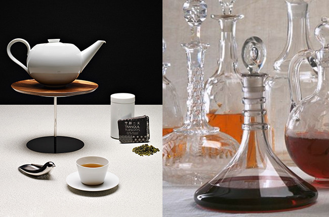 Wine and tea: Four enjoyable elements in common