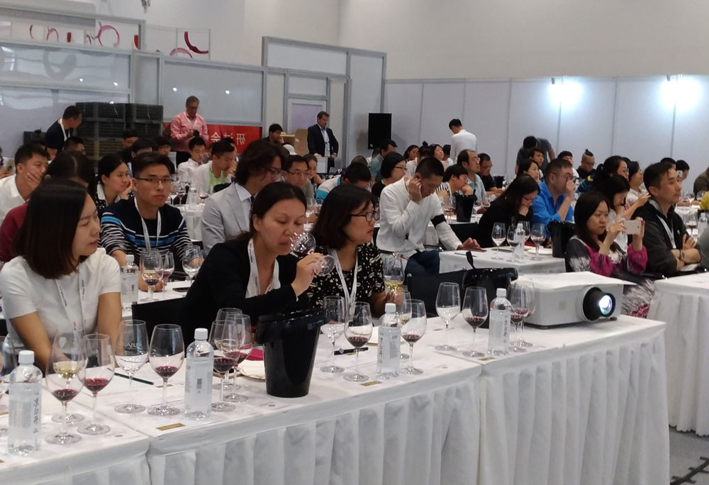 DAWA Gold Winners featured in Masterclass at TopWine China 2017