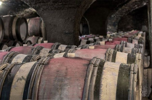 "'We tasted, against ""control"" magnums buried alongside the casks'"