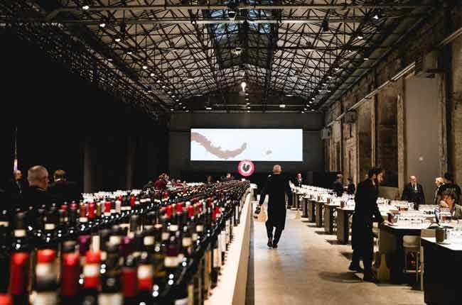 The vast space where the 2018 Chianti Classico Collection tasting took place. Credit: chianticlassico.com