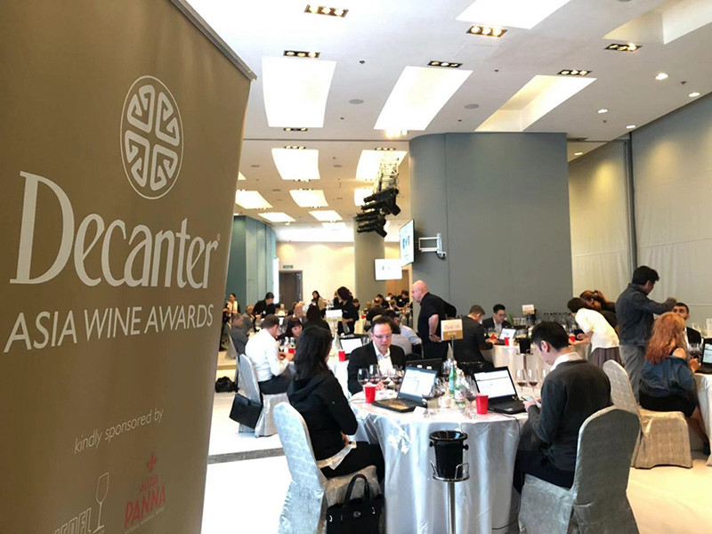 Decanter Asia Wine Awards 2019 judging week begins