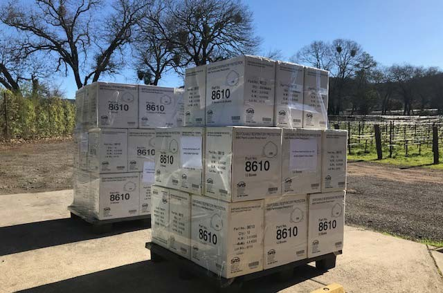 Napa winery donates 12,000 masks to Coronavirus effort