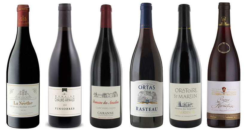 17 of the good-value Rhône reds from Decanter Panel Tasting