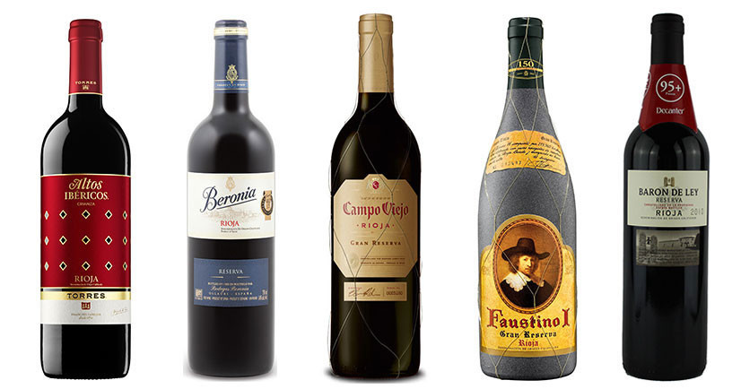 5 great-value Riojas under 300 RMB