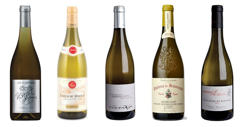 5 delicious white wines from Southern Rhône
