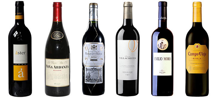 6 Award-winning Tempranillos from Rioja and Ribera del Duero