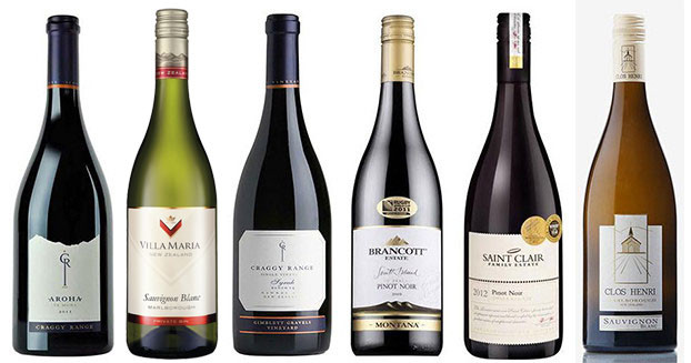 6 Award-winning New Zealand wines