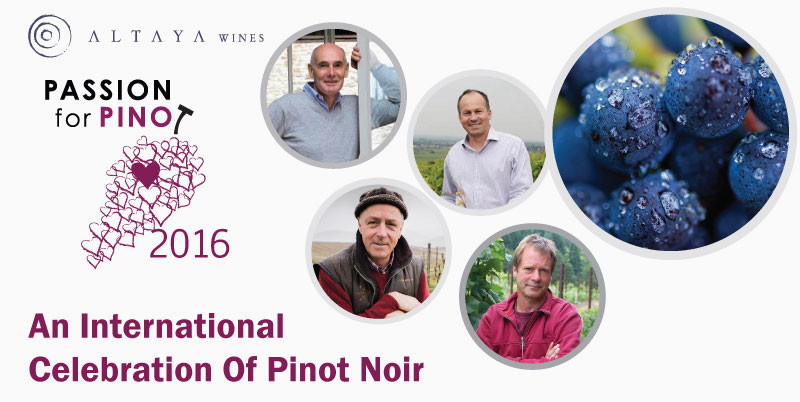 Passion for Pinot: An International Celebration of Pinot Noir by Altaya Wines