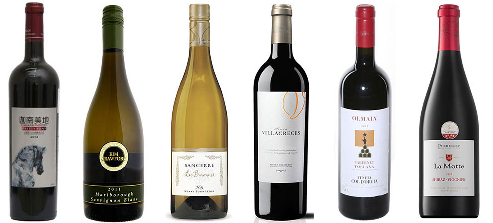 6 Gold and Silver medal-winning wines you can find in China