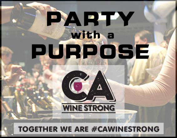 CA Wine Strong Fundraising Event