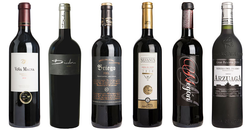 Top Ribera del Duero wines from Decanter Panel Tasting - Part I