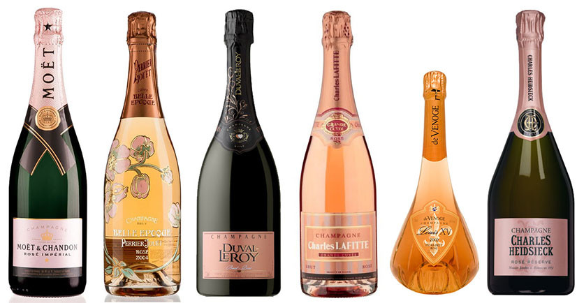 9 Rosé Champagnes for your Christmas