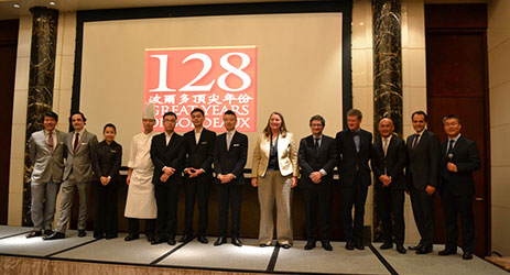 128 Great Years of Bordeaux Dinners in China and Singapore