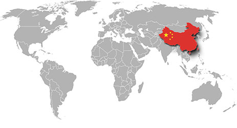 How big is China?