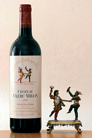 Château Clerc Milon wine bottle