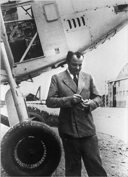Antoine de Saint-Exupéry in Toulouse, France, 1933