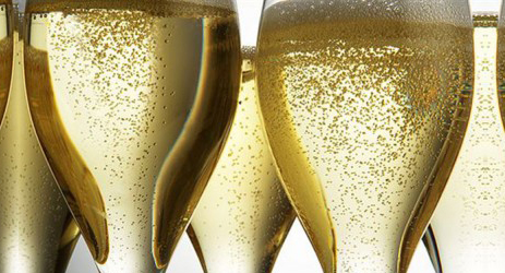Why do sparkling wines sparkle?
