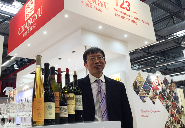 Dr. LI Jiming, General Engineer (chief winemaker) of Changyu