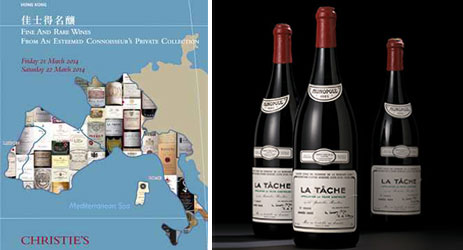 Christie's hails wine buyer 'resurgence' at Hong Kong auction