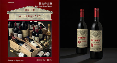 Petrus, Romanee-Conti dominate Christie's HK auction
