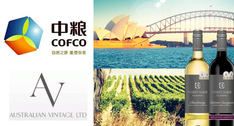 Australian Vintage to expand in China with COFCO deal