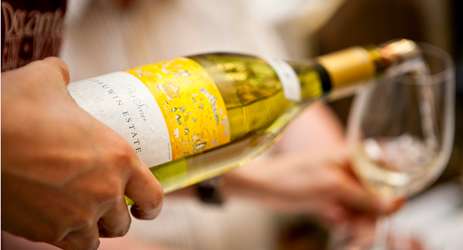 Serve white wines chilled