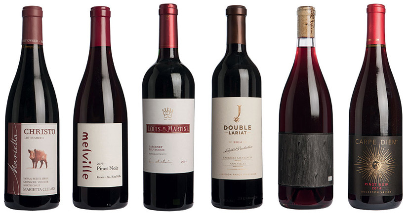Best of California -  red wines under £40