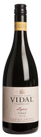 Vidal Estate, Legacy Syrah, Gimblett Gravels, Hawkes Bay, New Zealand 2014