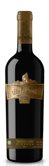 Ho-Lan-Soul, Reserve Organic Shiraz, Helan Mountain East, Ningxia, China 2013