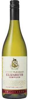 Mount Pleasant, Cellar Aged Elizabeth Semillon, Hunter Valley, New South Wales, Australia 2009