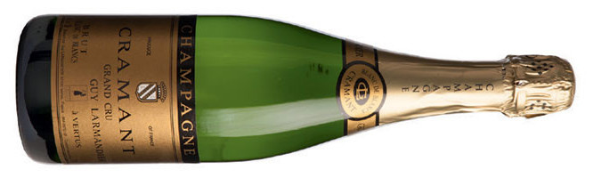 Guy Larmandier, Cramant Grand Cru Blanc de Blancs, Brut, Champagne, France