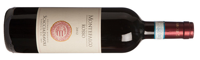 Scacciadiavoli,Montefalco Rosso干红葡萄酒,翁布里亚,意大利 2012