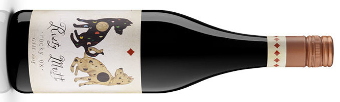 Dog Day Wines, Rusty Mutt ·rocky ox· GSM, McLaren Vale, Australia 2014