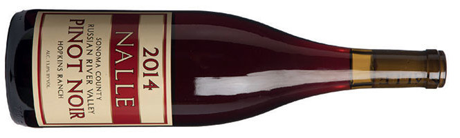Nalle, Hopkins Ranch Pinot Noir, Russian River Valley, Sonoma County 2014