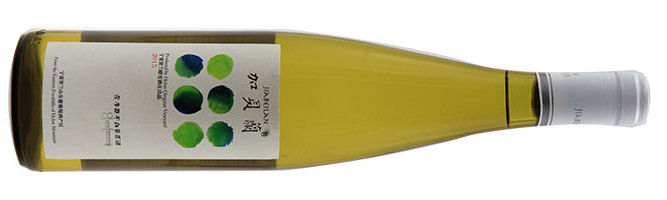 Helan Quingue Vineyard, Chardonnay, Helan Mountain East, Ningxia, China 2015