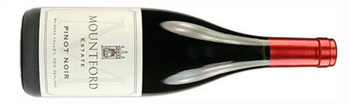 Mountford Estate, Pinot Noir, Waipara, North Canterbury, New Zealand 2010